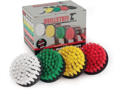 Drillstuff  power scrubber brush set