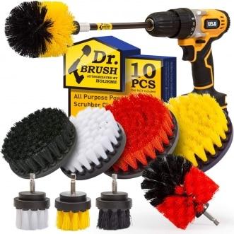 Holikme drill brush attachments set