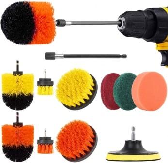 Herrfilk drill brush attachment set