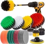 Holikme 22 piece drill brush attachments set