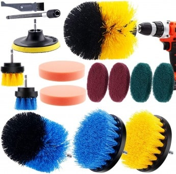 I clean 14 pieces drill brush kit