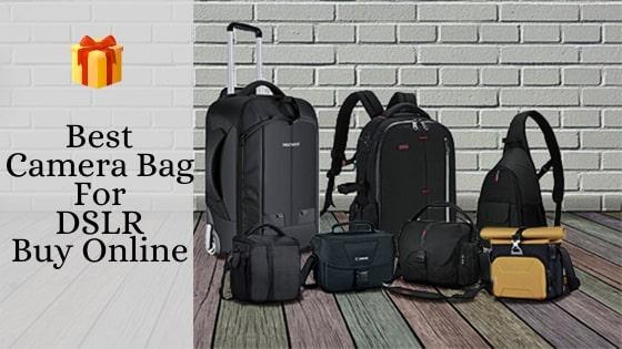 Best Camera Bag For DSLR Buy Online 2020 - Bestproductsandgadgets
