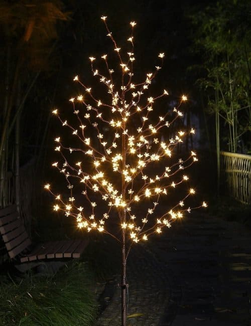 LightShare 6ft 208 LED Lighted Cherry Bloosom Tree