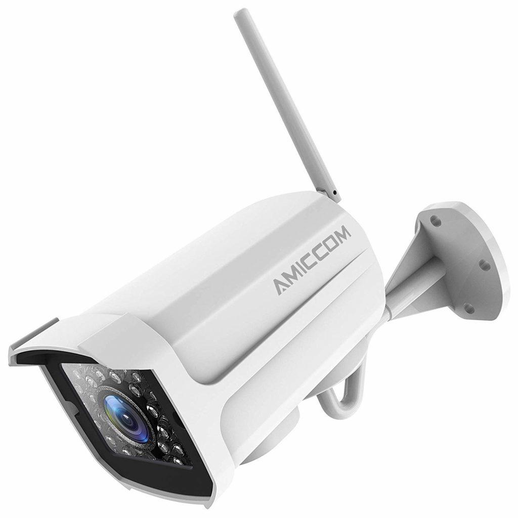 Outdoor Security Camera, 1080P WiFi Camera Wireless Surveillance Cameras, IP Camera with Two-Way Audio