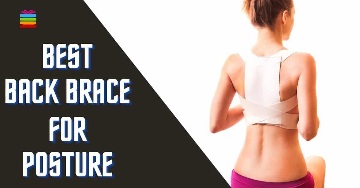 best full magnetic back brace for posture