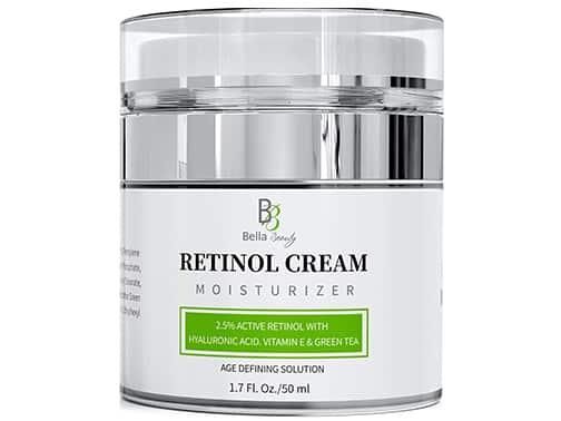 bella beauty retinol cream