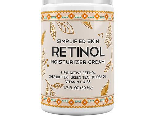 simplified skin moisturizer cream
