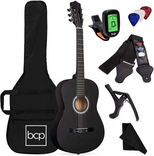 All-Wood-Acoustic-Guitar-Starter-Kit
