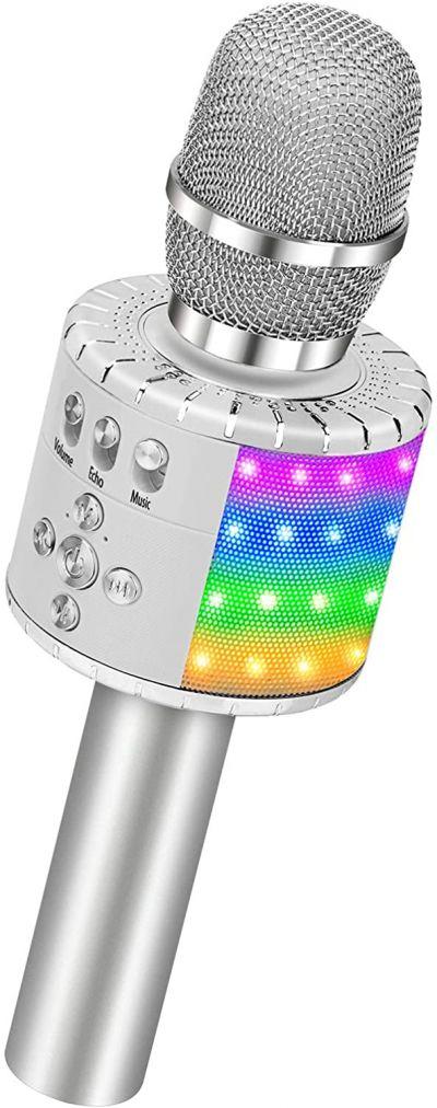 BONAOK Bluetooth Karaoke Wireless Microphone