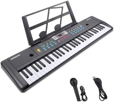 RenFox 61-Key Electric Piano Keyboard