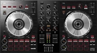 Pioneer DJ DJ Controller, Black, (DDJ-SB3)